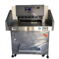 220V Guillotine Electric Cutter For Paper With IR Safety Protection LCD Screen