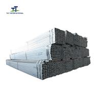 Wholesale 25x50 Rectangular Metal Tubing , Rectangular Steel Pipe Q235  Punched Holes from china suppliers