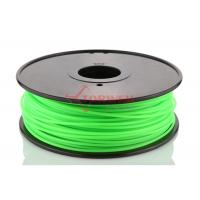Wholesale Makerbot UP 3D Printer 3MM PLA Filament Fluorescent Green , 3D Printing Filament from china suppliers