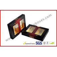 Wholesale Matt Varnish Foil Paper Cigar Gift Box With Golden / Cigar Gift Sets from china suppliers
