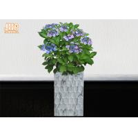 Wholesale Clay Floor Vases Homewares Decorative Items Fiberclay Flower Pots Clay Plant Pots Marbling from china suppliers