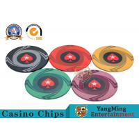 Wholesale Custom 10g 14g Ceramic Poker Chips 3.3mm Thickness Environmentally Friendly from china suppliers