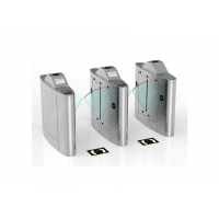 Wholesale TCP IP Retractable Flap Barrier Gate Turnstile Parking Place Club Door from china suppliers