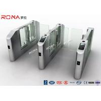 Wholesale Electronic Turnstile RFID Pedestrian Barrier Gate , Turnstile Security Systems from china suppliers