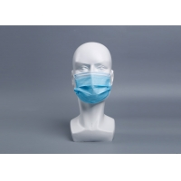 Wholesale Anti Virus 3 Ply EN149 Disposable Sheet Earloop Mask from china suppliers