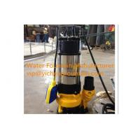Single Phase Sewage Submersible Pond Pump With Floating