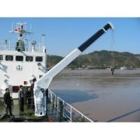 Wholesale Knuckle Boom Hydraulic Yacht Crane With CCS / BV , Port Ship Marine Deck Crane from china suppliers
