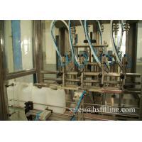 China Automatic PLC Piston Ethanol Filling Machine High Speed 4 - 10 Filling Heads wholesale