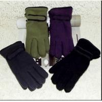 Wholesale winter  adult fleece gloves from china suppliers