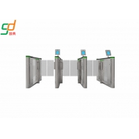 Wholesale Bi Directional Supermarket Swing Gate , Intelligent Bridge Barrier Turnstile from china suppliers