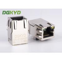 Wholesale 100M cat5 Ethernet magnetic RJ45 Shielded Connector module with LED from china suppliers