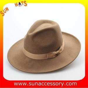 0ff023aa 1462 Sun Accessory camel winter wool felt safari mens fedora hats ,Shopping  online hats and caps wholesaling