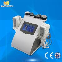 China Ultrasonic Cavitation Vacuum Liposuction Laser Bipolar Roller Massage RF Beauty Machine wholesale