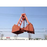 Wholesale Mechanical Grabs Single Rope Touch Open Bulk Grab for Loading Sand / Coal / Mineral Powder from china suppliers