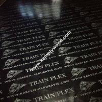 China Black film faced plywood with logo, black faced shuttering plywood, black film faced marine plywood wholesale