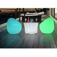 Buy cheap Outdoor Commercial Outdoor Indoor LLED Bar Table , Plastic Lighted Bar Tables from wholesalers