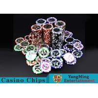 Wholesale Eco 12g Clay Poker Chips With Ultimate Sticker , 40mm Diameter from china suppliers