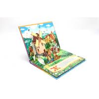 Wholesale Kids 3D Pop Up Book Printing Perfect Binding , 350g White Board Inside from china suppliers