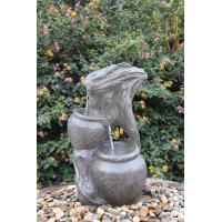 China Faux Stakes & Jars Outdoor Tiered Water Fountains For Garden / Aquaria wholesale