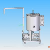 Wholesale Movable Chocolate Holding Tank With Mix Motor from china suppliers