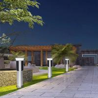 Wholesale IP65 Pole Mounted Solar Lights , All In One Solar Street Light Bridgelux Source from china suppliers