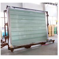 China Tempered Laminated Safety Glass with Printed Stripes or Dots wholesale