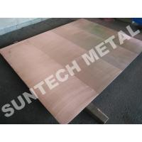 Buy cheap C1020 / 316L Copper Clad Plate from wholesalers