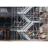 Wholesale Hot Dip Galvanized Kwikstage / K - Stage Cuplock Stair Tower With Safety Ladder from china suppliers