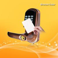 Wholesale Hotel Security Keyless Card Entry Door Locks Low Battery Voltage Warning from china suppliers