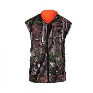 Buy cheap Outdoor Wear Hunting Shooting Vest Reversable Vest Camo Blaze Orange Fleece Game from wholesalers