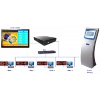 Wholesale 1 Year Warranty 17 Inch HD Service Center Queue Ticketing System from china suppliers