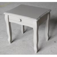 China simple solid wood bedroom furniture county style bedside table