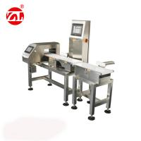 Conveyor Belt Weight Checking Machine With Reject Arm / Air Blast / Pneumatic Pusher