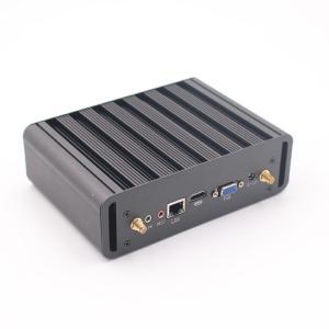 Wholesale Inte I3 I5 I7 5287U 7200U HTPC Fanless Mini PC FCC Barebone System from china suppliers