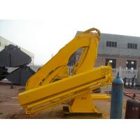 Wholesale Small Type Hydraulic Telescopic Knuckle Boom Crane for Marine Ship Use 4T from china suppliers