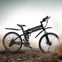 Wholesale HANMA Folding Electric Bicycle 36V Adjustable Seat Height Multi - Color With Soft Tail from china suppliers