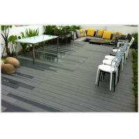Durable Engineered grey composite decking For storage container