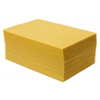 Wholesale Grade A  type Beeswax foundation sheet  for Beekeeping from china suppliers