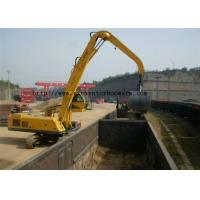 Wholesale Mechanical Clamshell Grab Bucket Excavator Spare Parst For Material Handler Machine from china suppliers