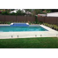 China Custom Absolute Glass Pool Fencing , Toughened Glass Swimming Pool Fence wholesale