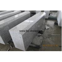 Wholesale Polished G603,Sesame White,Light Gray,Light Grey,Crystal White Granite Kerbstone,Curbstone from china suppliers