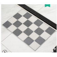 Wholesale Non Slip Diatomite Bath Mat Fast Drying Plaid Bath Mat from china suppliers