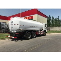 Wholesale 21000 Liters Sinotruk Howo A7 6x4 Fuel Tank Truck Lhd 4 Mm Tank Thickness from china suppliers