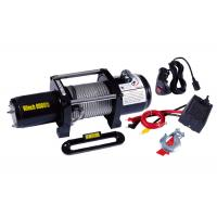 Wholesale Waterproof Electric ATV Winch 8000lb With Wheels Lubricated , Portable 12v Winch from china suppliers