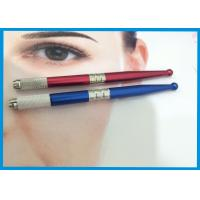 China 3D Eyebrow Tattooing Manual Cosmetic Tattoo Pen / Microblading Pen With Microblades wholesale