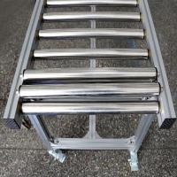Wholesale Small Lineshaft Roller Conveyor Systems , Gravity Feed Roller Conveyor For Material Handling from china suppliers