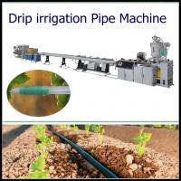 China LDPE/HDPE drip irrigation pipe extrusion line Inlaid Round Emitter wholesale