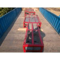 China Parker Crusher Parts Free Surface High Cr Jaw Plates For High Toughness Values wholesale