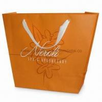 Buy cheap Recycled Paper Bag with PP Rope Handle and Shinny/Matte Lamination, Available in from wholesalers