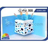 Wholesale 3D Pop Up Birthday Cake Birthday Cards Greeting Cards Printing , Printable Greeting Cards from china suppliers